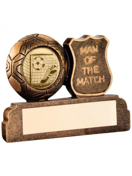 Super Man Of The Match Football Resin - Available in 1 size