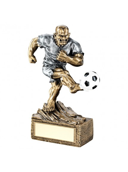 Brz/Pew Football 'Beasts' Figure Trophy - 6.75inch