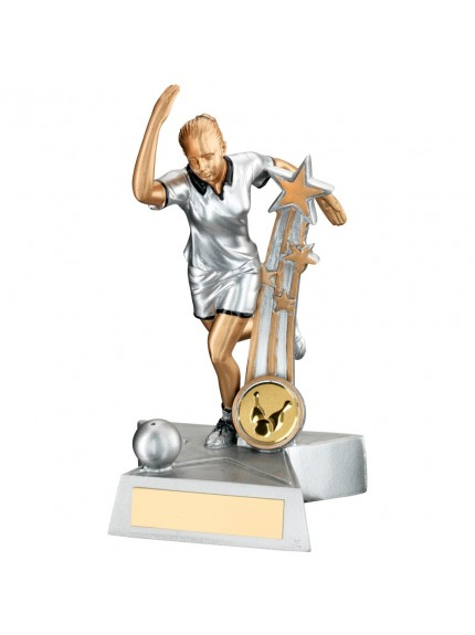 Stunning Female Star Ten Pin Bowling Award - Available in 2 sizes