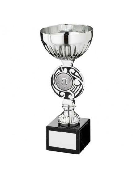 Silv/Black Round Celtic Trophy - Available in 3 Sizes