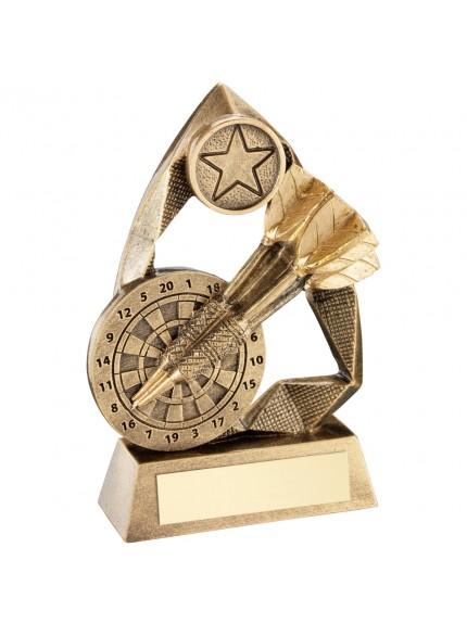 Brz/Gold Darts Diamond Collection Trophy