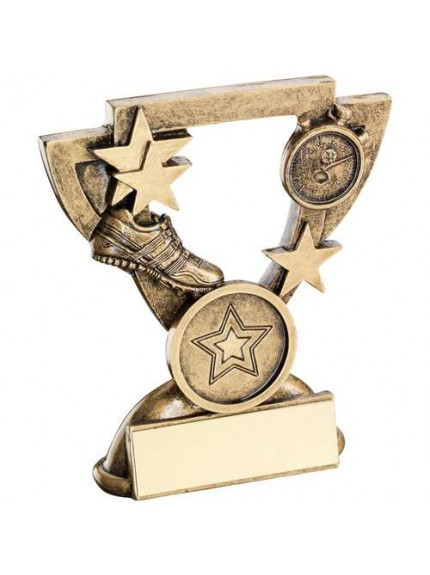 Brz/Gold Athletics Mini Cup Trophy - Available in 2 Sizes