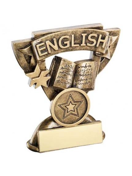 9.5cm Brz/Gold English Mini Cup Trophy