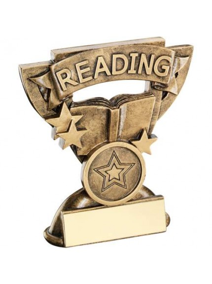 9.5cm Brz/Gold Reading Mini Cup Trophy