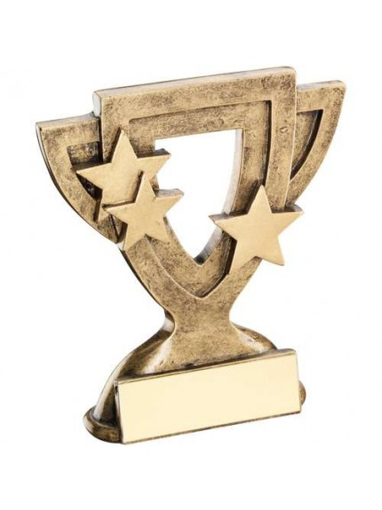 Brz/Gold Generic Mini Cup Trophy - Available in 2 Sizes