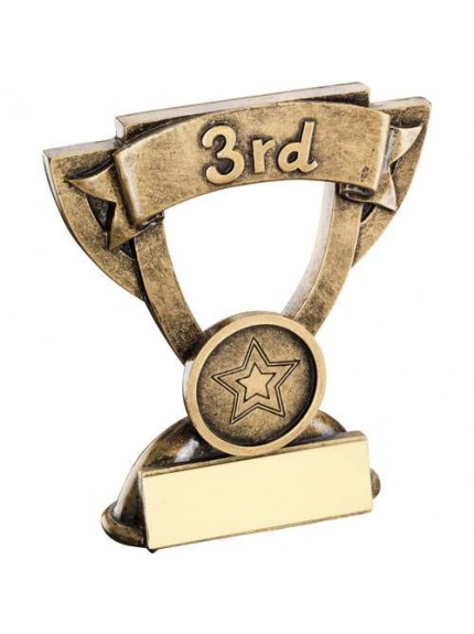 Brz/Gold Mini Cup Trophy - Available in 1st, 2nd and 3rd