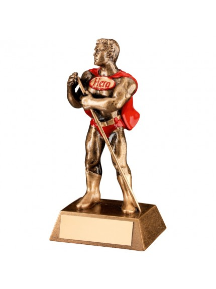 Super Hero Collection Resin Award for Pool or Snooker - Available in 1 size only