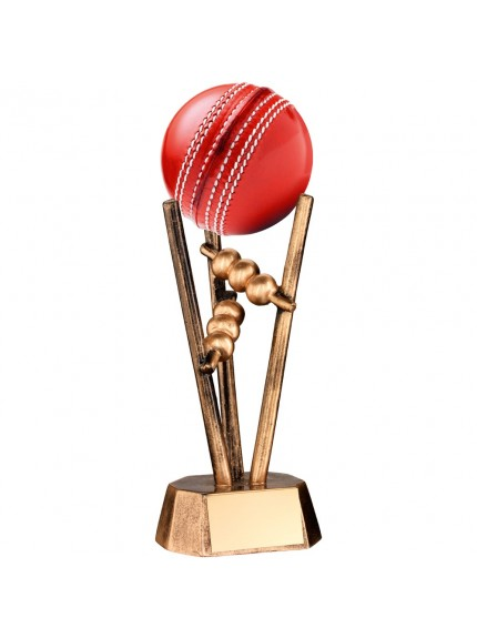 Pyramid Cricket Ball Holder Resin (cricket ball not supplied) - Available in 1 size
