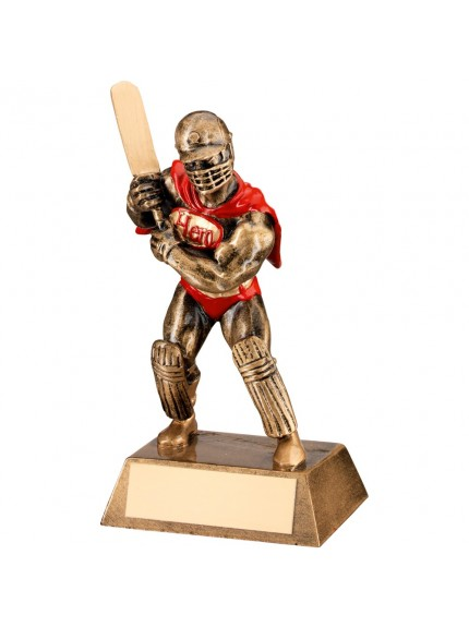 Brilliant Cricket Hero Collection Resin Award