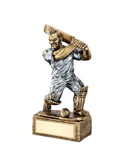 Brz/Pew Cricket 'Beasts' Figure Trophy - 6.75inch