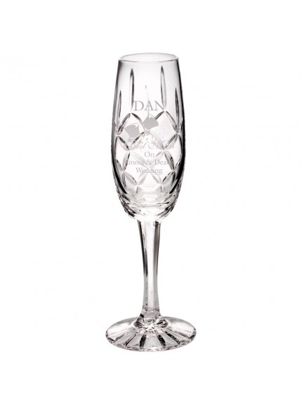 20.5cm 140Ml Classic Champagne Flute - Blank Panel