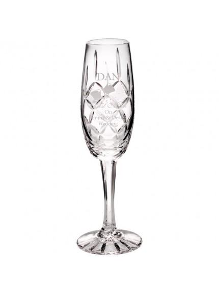 20.5cm 140Ml Classic Champagne Flute - Blank Panel