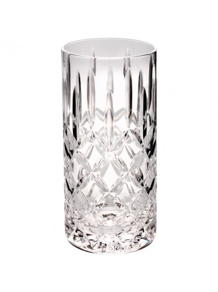 15.5cm 405Ml Highball Glass Tumbler - Fully Cut