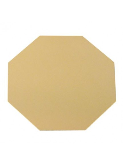 Gold Octagonal Engraving Plate