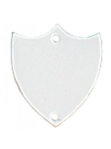 28mm Flat Silver Side Shield