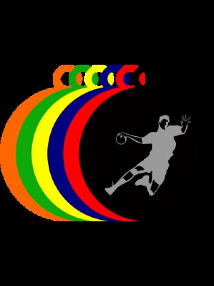 50mm Acrylic Handball Medal