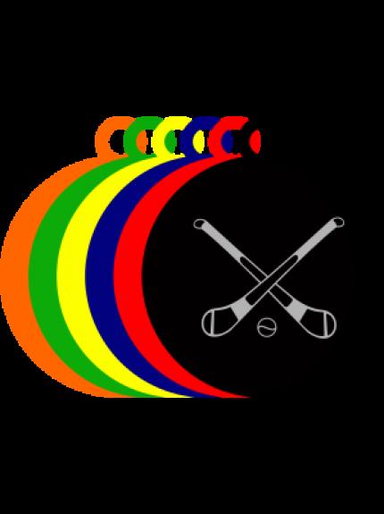 50mm Acrylic Hurling Medal
