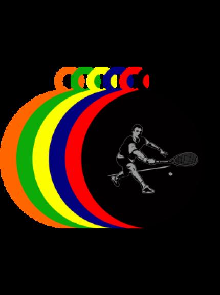 50mm Acrylic Squash Medal