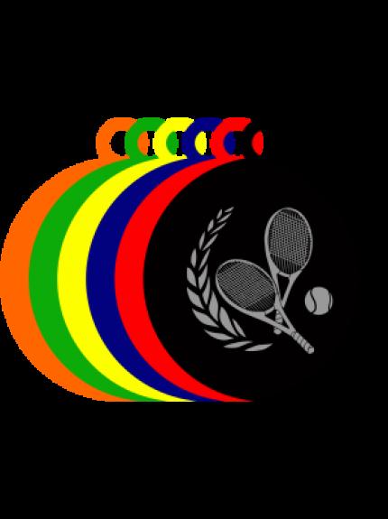 50mm Acrylic Tennis Medal