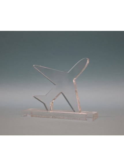 Acrylic Aeroplane Award 95mm
