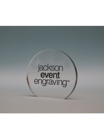 Freestanding Acrylic Circle Award