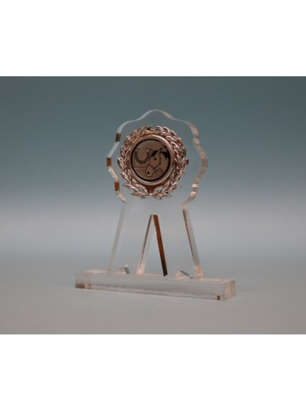 Acrylic Rosette Award 110mm