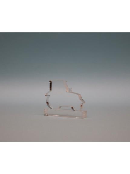 Acrylic Tractor Award 55mm
