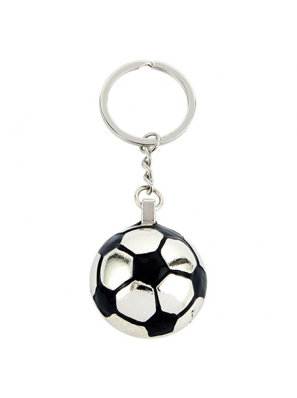 Monaco Football Keyring 30mm