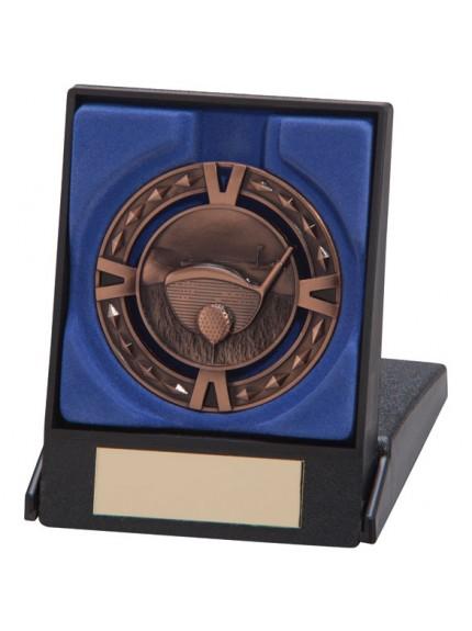 Golf V-Tech Series Medal & Box