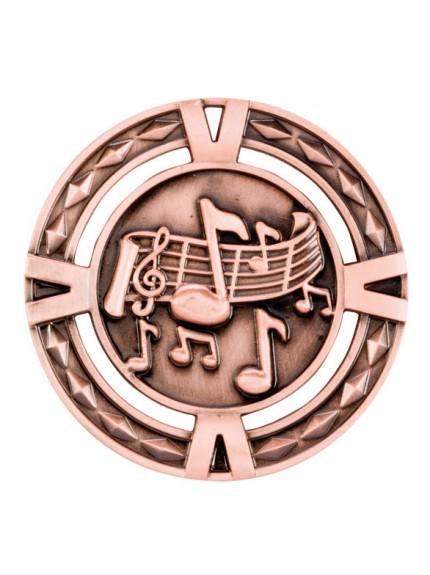 V-Tech Series Medal - Music