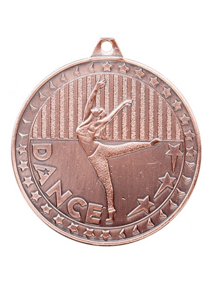 Discovery Dance Medal 50mm - Available in Gold, Silver and Bronze