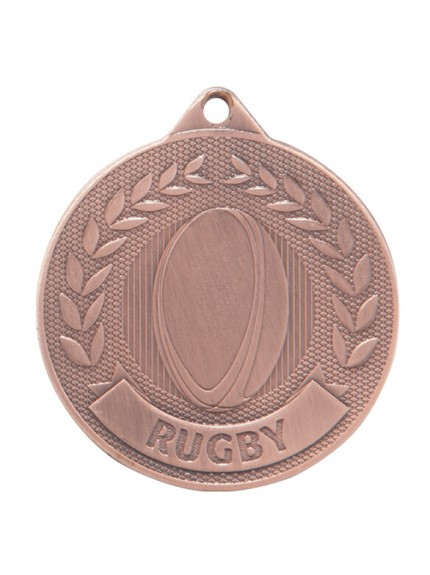 Discovery Rugby Medal 50mm - Available in Gold, Silver and Bronze