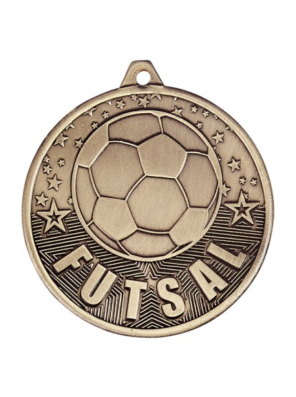 Cascade Futsal Iron Medal 50mm - 3 Colours