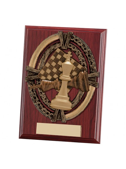 Maverick Apollo Chess Plaque - 2 Sizes