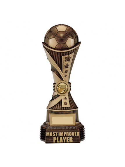 All Stars Most Improved Player Award Antique Bronze & Gold 26cm