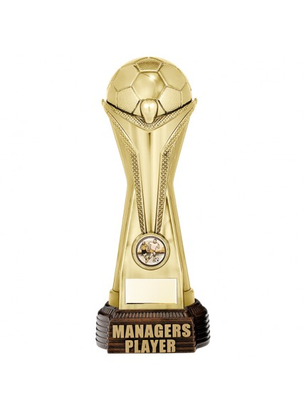 World Football Managers Player Gold 260mm