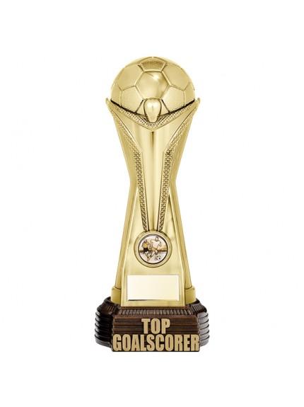 World Football Top Goalscorer Gold 260mm