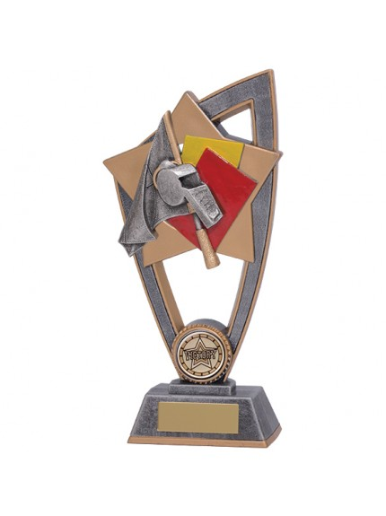 Star Blast Referee Whistle Award