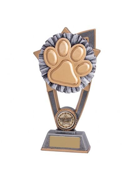 Star Blast Dog Paw Award - 3 Sizes