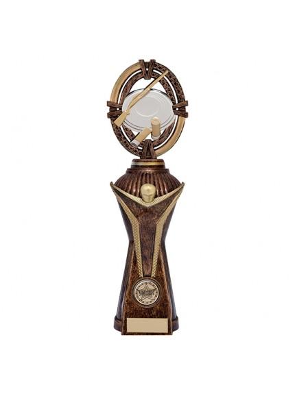 Maverick Clay Pigeon Heavyweight Award Antique Bronze & Gold - 4 Sizes