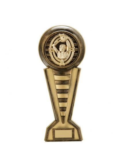 Maverick Netball Colossus Award Gold 345mm