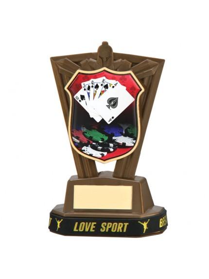 Titans Poker Plastic Award & TB