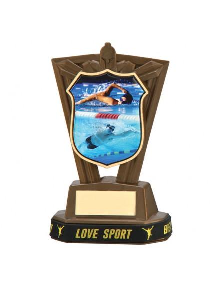 Titans Swimming Plastic Award & TB