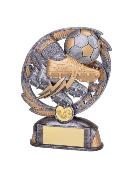 Sonic Boom Football and Boot Award - 2 Sizes