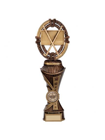 Maverick Hockey Heavyweight Award Antique Bronze & Gold - Available in 5 Sizes