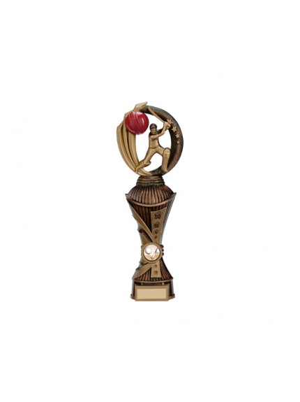 Renegade Cricket Heavyweight Award Antique Bronze & Gold - Available in 4 Sizes