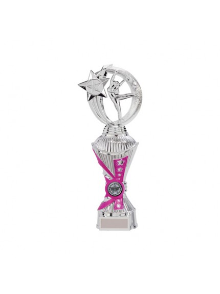 Renegade Dance Heavyweight Award Silver & Pink - Available in 4 Sizes