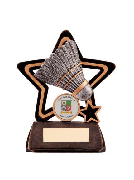 Little Star Badminton Plaque