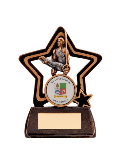 Little Star Gymnastics Plaque 105mm