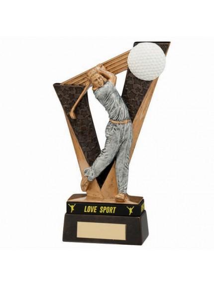 Victory Golfer Male Award & TB